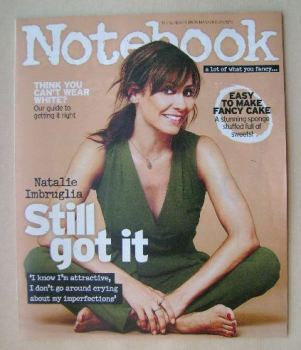 Notebook magazine - Natalie Imbruglia cover (23 August 2015)