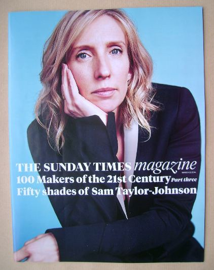 <!--2014-03-23-->The Sunday Times magazine - Sam Taylor-Johnson cover (23 M