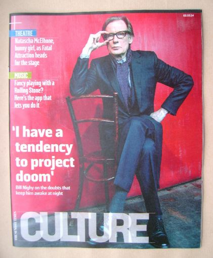 <!--2014-03-02-->Culture magazine - Bill Nighy cover (2 March 2014)