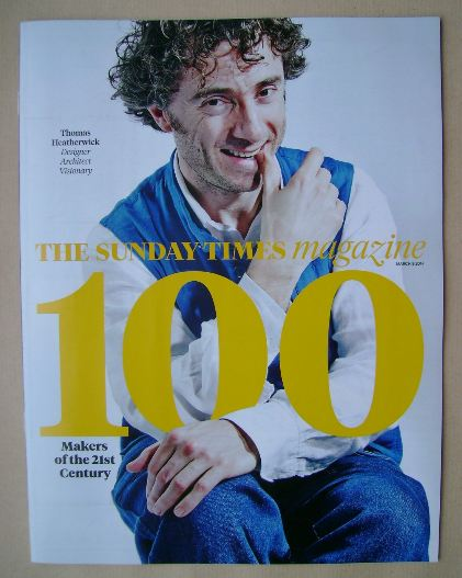 <!--2014-03-09-->The Sunday Times magazine - Thomas Heatherwick cover (9 Ma
