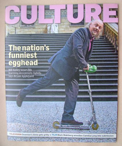 <!--2013-09-01-->Culture magazine - Bill Bailey cover (1 September 2013)