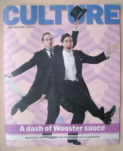 <!--2013-09-29-->Culture magazine - Matthew Macfadyen and Stephen Mangan co