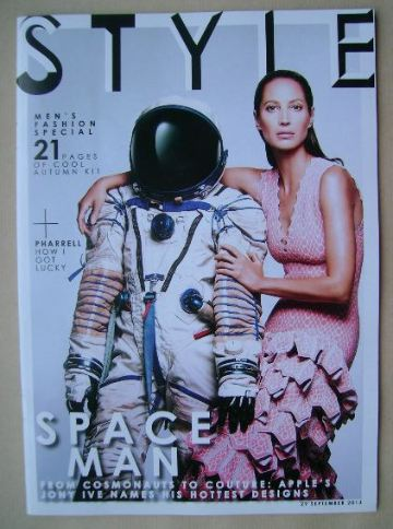 <!--2013-09-29-->Style magazine - Christy Turlington cover (29 September 20
