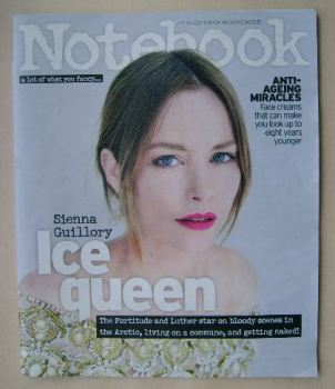 Notebook magazine - Sienna Guillory cover (24 May 2015)