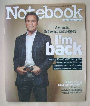 Notebook magazine - Arnold Schwarzenegger cover (5 July 2015)
