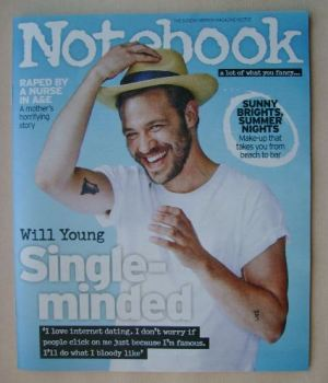 Notebook magazine - Will Young cover (19 July 2015)