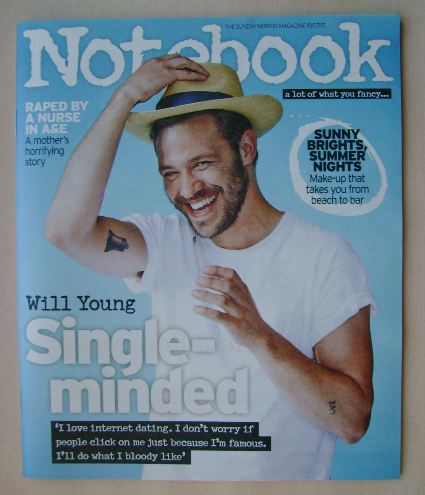 <!--2015-07-19-->Notebook magazine - Will Young cover (19 July 2015)