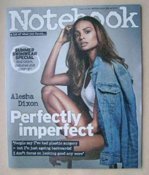 Notebook magazine - Alesha Dixon cover (14 June 2015)