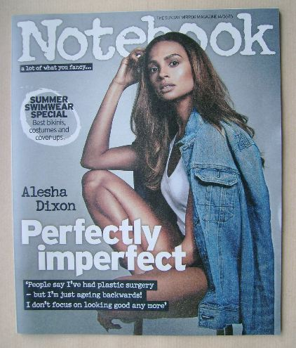 <!--2015-06-14-->Notebook magazine - Alesha Dixon cover (14 June 2015)