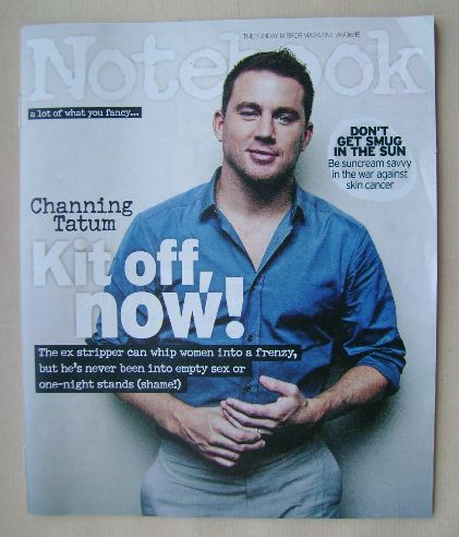 <!--2015-06-28-->Notebook magazine - Channing Tatum cover (28 June 2015)