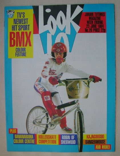 <!--1984-06-23-->Look In magazine - BMX cover (23 June 1984)