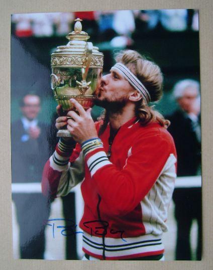 Bjorn Borg autograph
