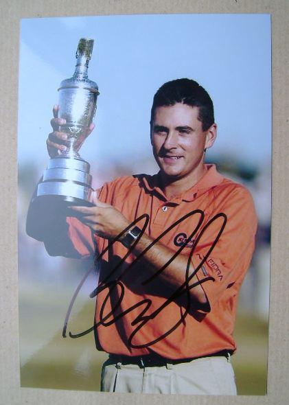 Ben Curtis autograph