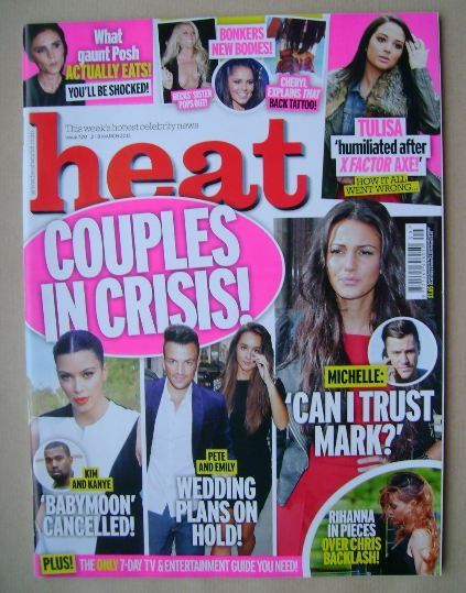 <!--2013-03-02-->Heat magazine - Couples in Crisis! cover (2-8 March 2013)