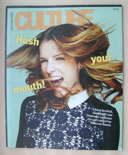 <!--2015-01-11-->Culture magazine - Anna Kendrick cover (11 January 2015)