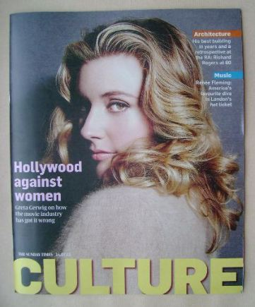 <!--2013-07-14-->Culture magazine - Greta Gerwig cover (14 July 2013)