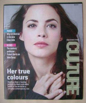 Culture magazine - Berenice Bejo cover (16 March 2014)