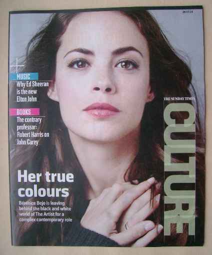 <!--2014-03-16-->Culture magazine - Berenice Bejo cover (16 March 2014)