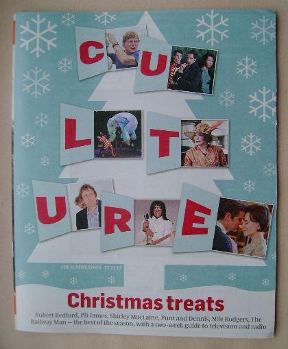 <!--2013-12-22-->Culture magazine - 22 December 2013