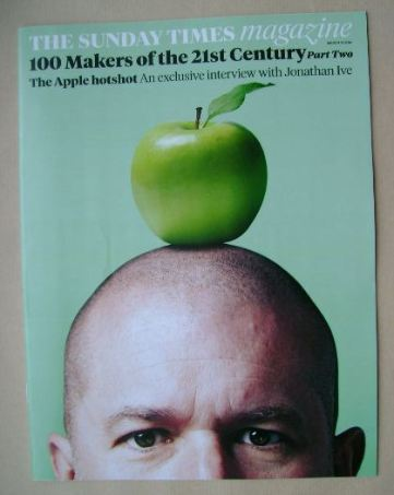 <!--2014-03-16-->The Sunday Times magazine - Jonathan Ive cover (16 March 2