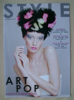 Style magazine - Art Pop cover (22 December 2013)