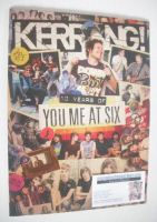 <!--2015-10-10-->Kerrang magazine - 10 Years Of You Me At Six cover (10 October 2015 - Issue 1589)