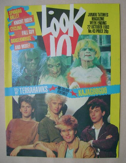 <!--1983-10-22-->Look In magazine - 22 October 1983