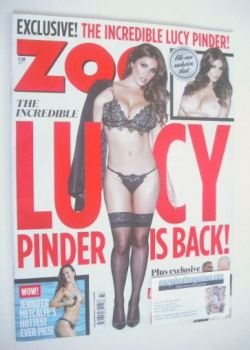 Zoo magazine - Lucy Pinder cover (11-17 September 2015)