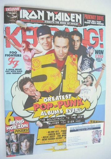 <!--2015-09-19-->Kerrang magazine - The Greatest Pop-Punk Albums ever (19 S