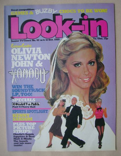 <!--1980-10-11-->Look In magazine - Olivia Newton John cover (11 October 19
