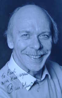 Brian Murphy autograph (hand-signed photograph, dedicated)