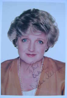 Julia McKenzie autograph