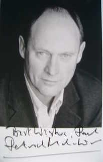 Patrick Malahide autograph