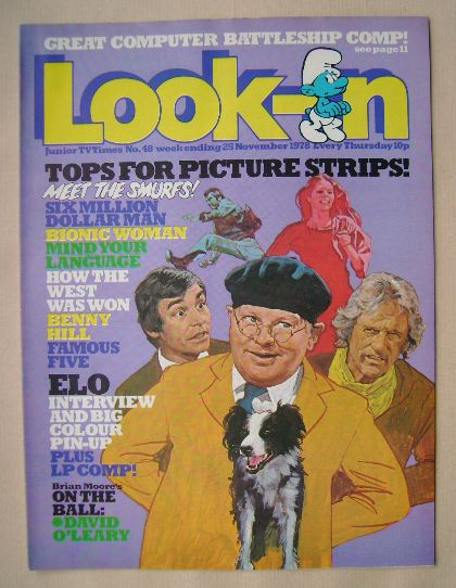 <!--1978-11-25-->Look In magazine - 25 November 1978