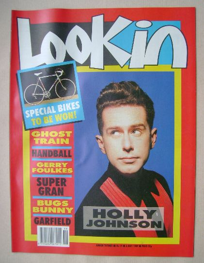 <!--1989-05-06-->Look In magazine - Holly Johnson cover (6 May 1989)