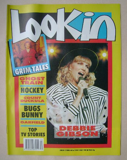 <!--1989-05-13-->Look In magazine - Debbie Gibson cover (13 May 1989)