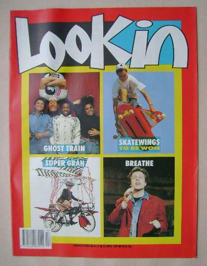 <!--1989-04-22-->Look In magazine - 22 April 1989