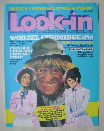 <!--1980-11-01-->Look In magazine - 1 November 1980