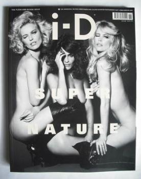 i-D magazine - Eva Herzigova, Helena Christensen, Claudia Schiffer cover (Winter 2009)