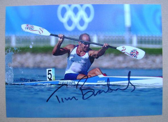 Tim Brabants autographed photo