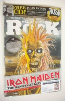 Classic Rock magazine - October 2015 - Iron Maiden cover (1/17)
