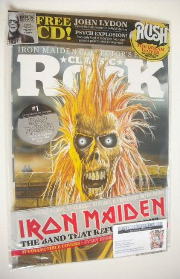 <!--2015-10-->Classic Rock magazine - October 2015 - Iron Maiden Collector'