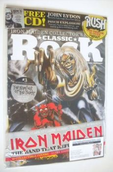 Classic Rock magazine - October 2015 - Iron Maiden cover (3/17)
