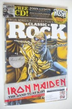 Classic Rock magazine - October 2015 - Iron Maiden cover (4/17)