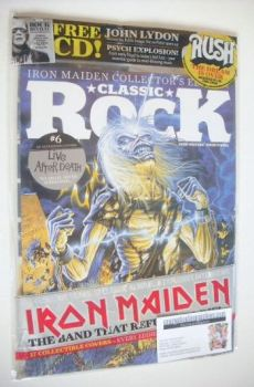 Classic Rock magazine - October 2015 - Iron Maiden cover (6/17)