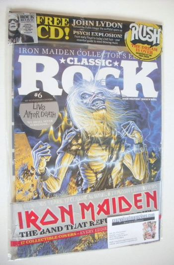 <!--2015-10-->Classic Rock magazine - October 2015 - Iron Maiden cover (6/1