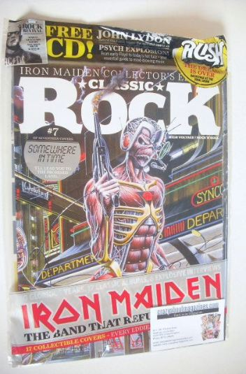 <!--2015-10-->Classic Rock magazine - October 2015 - Iron Maiden cover (7/1
