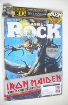 Classic Rock magazine - October 2015 - Iron Maiden cover (10/17)
