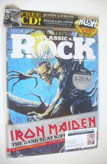 <!--2015-10-->Classic Rock magazine - October 2015 - Iron Maiden cover (10/