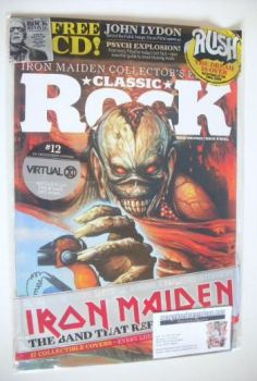 Classic Rock magazine - October 2015 - Iron Maiden cover (12/17)